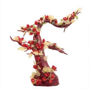 contoh kerajinan getah nyatu bunga