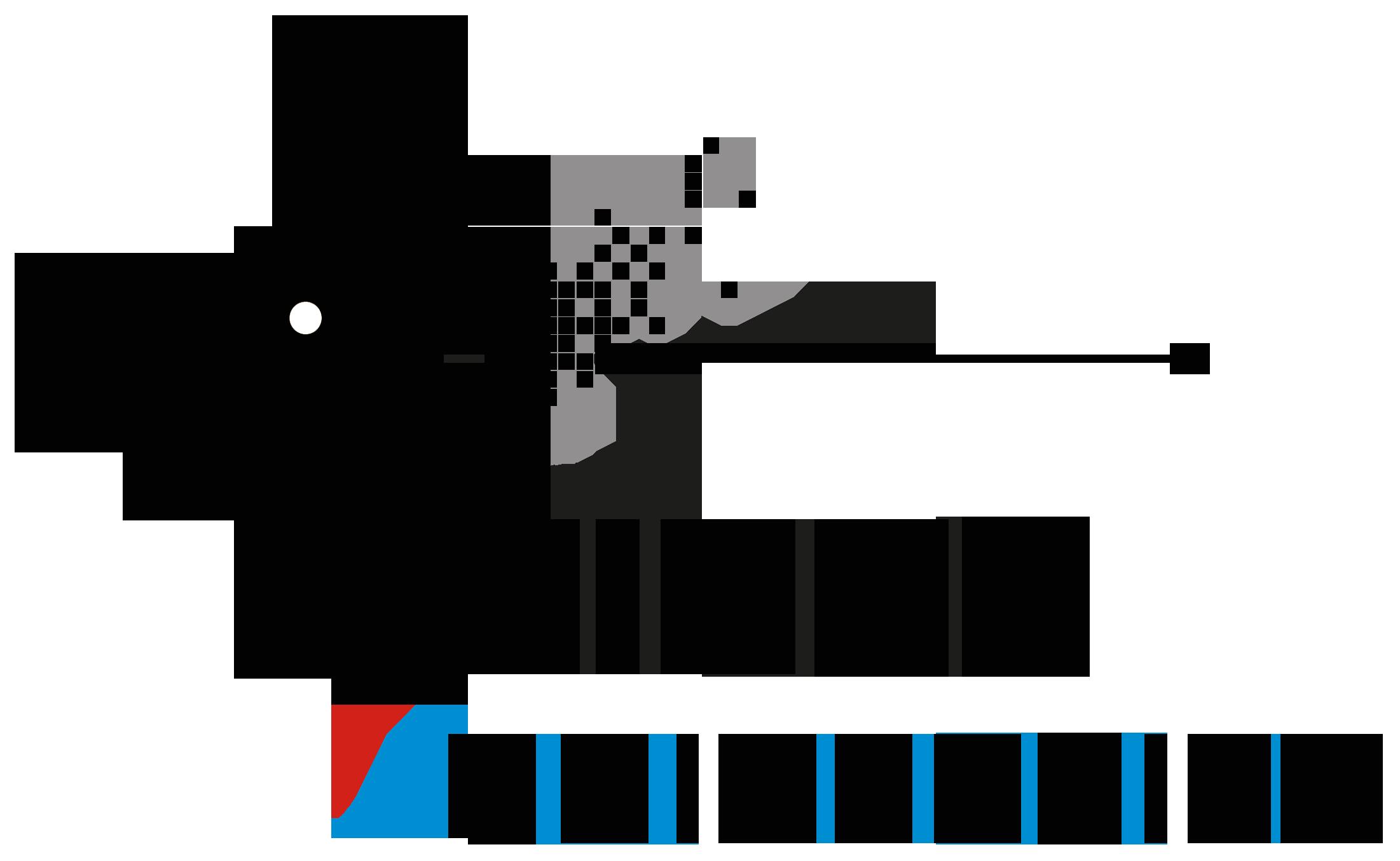 Logo Binus University (Universitas Bina Nusantara) Original PNG Hitam Putih