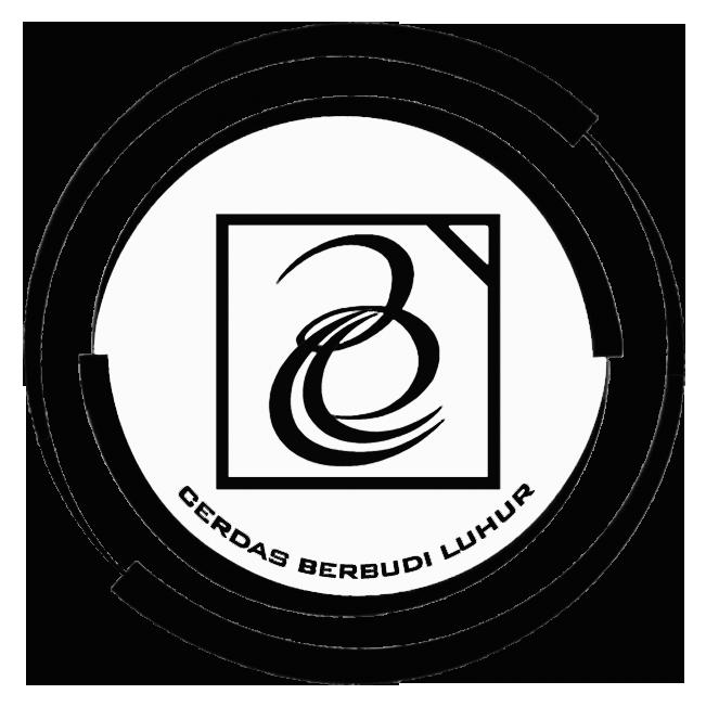 Logo Budi Luhur (Universitas Budi Luhur) Hitam Putih PNG