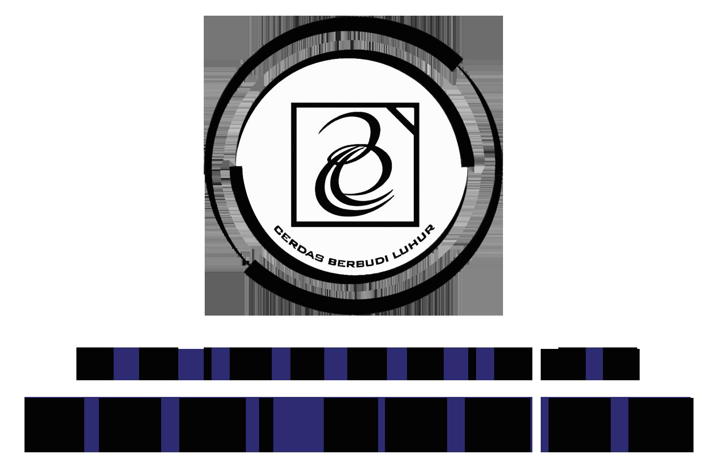 Logo Budi Luhur (Universitas Budi Luhur) Original Hitam Putih PNG