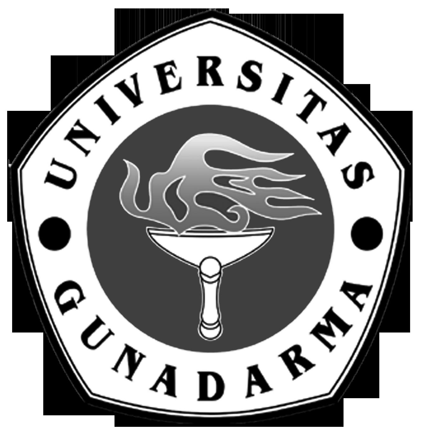 Logo Gunadarma (Universitas Gunadarma) Warna Gelap PNG