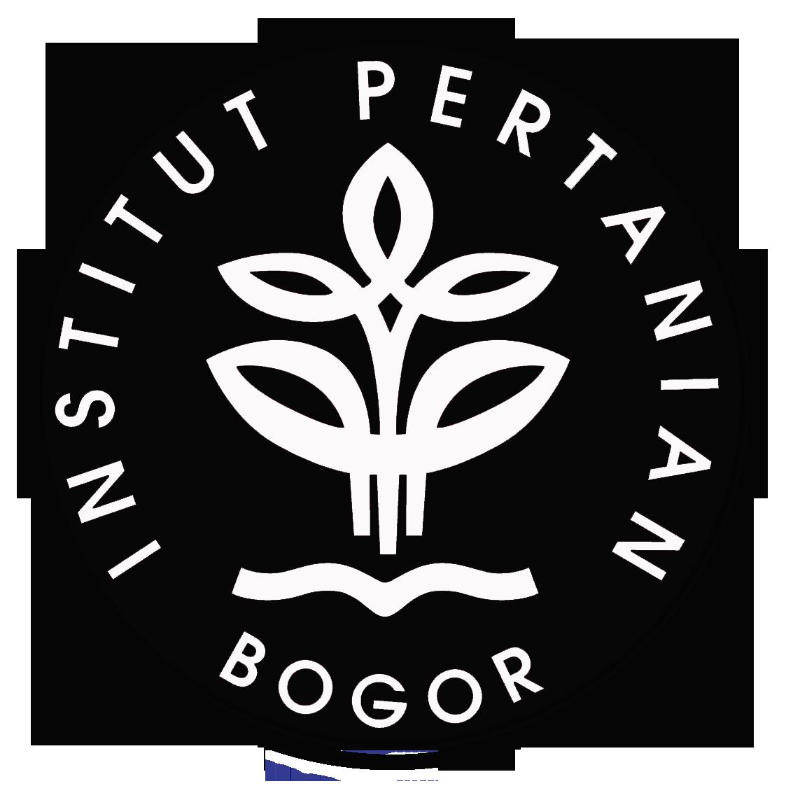 Logo IPB (Institut Pertanian Bogor) Hitam