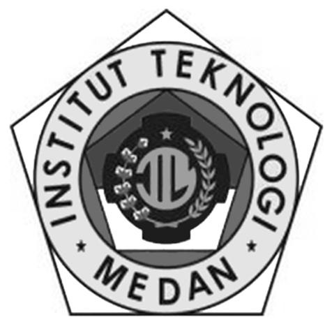 Logo ITM (Institut Teknologi Medan) Hitam Putih PNG
