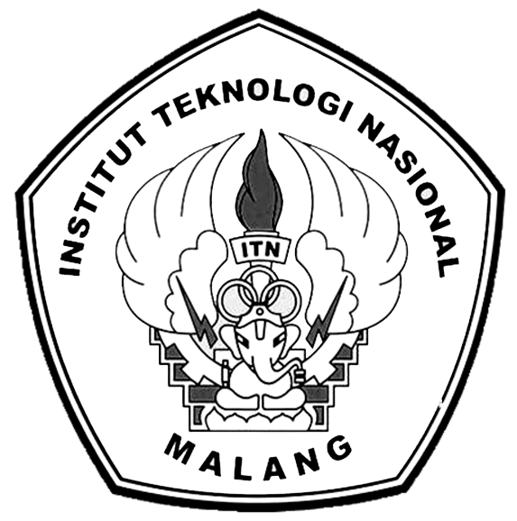 Logo ITN (Institut Teknologi Nasional) Malang Hitam Putih PNG