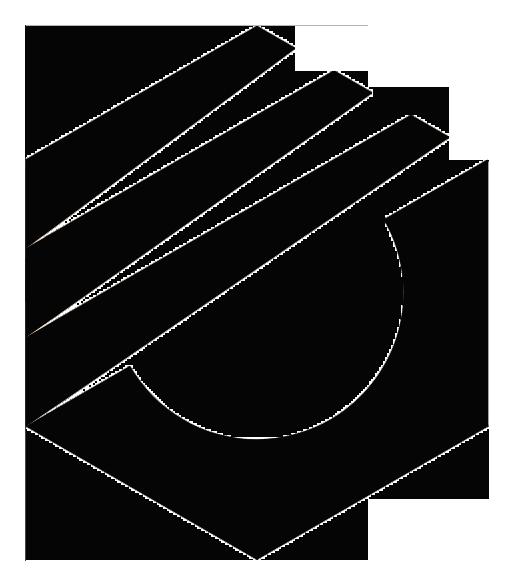 Logo Polban (Politeknik Negeri Bandung) Hitam PNG