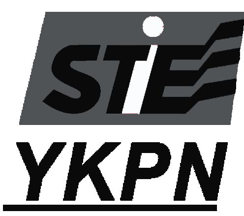Logo STIE YKPN Yogyakarta Hitam Putih PNG
