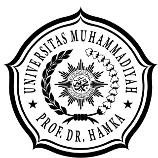 Logo UHAMKA Hitam putih