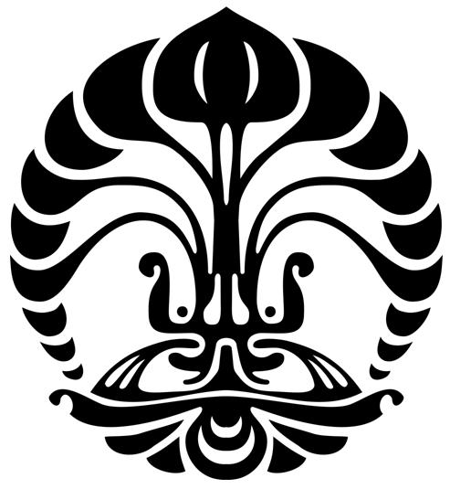 Logo UI (Universitas Indonesia) Hitam Putih
