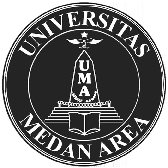 Logo UMA (Universitas Medan Area) Hitam PNG