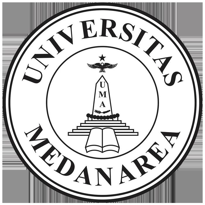 Logo UMA (Universitas Medan Area) Hitam Putih