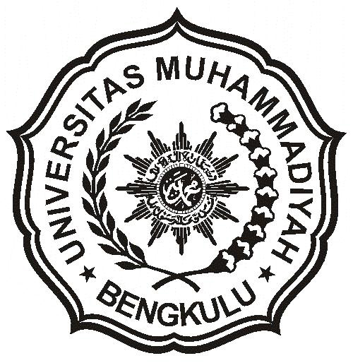 Logo UMB (Universitas Muhammadiyah Bengkulu) Hitam Putih