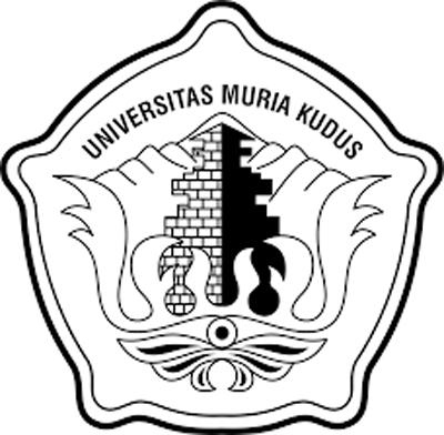 Logo UMK (Universitas Muria Kudus) Hitam Putih