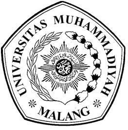 Logo UMM (Universitas Muhammadiyah Malang) Hitam Putih