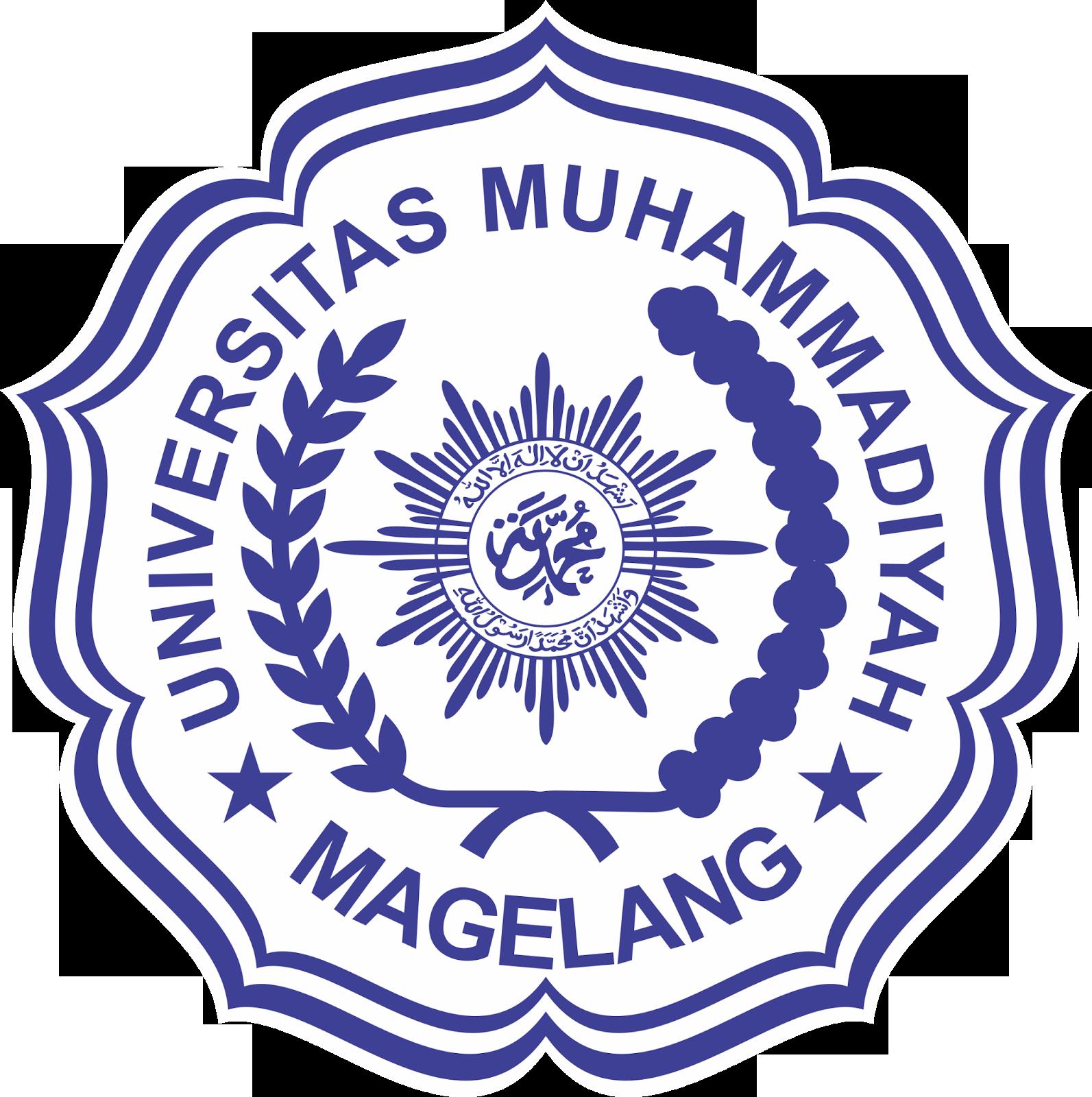 Logo UMMGL (Universitas Muhammadiyah Magelang) Biru