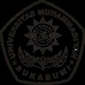 Logo UMMI (Universitas Muhammadiyah Sukabumi) Hitam Putih