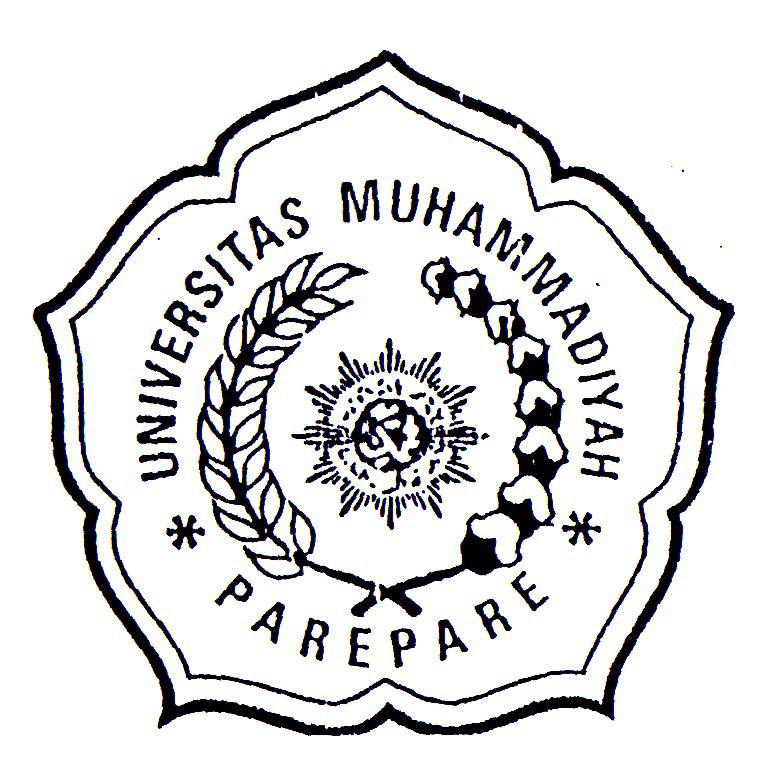 Logo UMPAR (Universitas Muhammadiyah Parepare) Hitam Putih