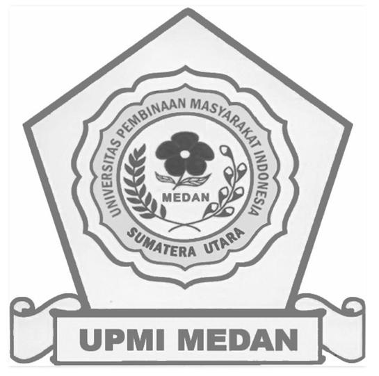 Logo UPMI (Universitas Pembinaan Masyarakat Indonesia) Hitam Putih 2