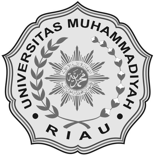 Logo UMRI (Universitas Muhammadiyah Riau) Hitam Putih