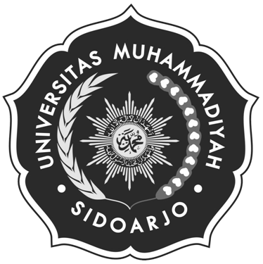 Logo UMSIDA (Universitas Muhammadiyah Sidoarjo) Hitam Putih
