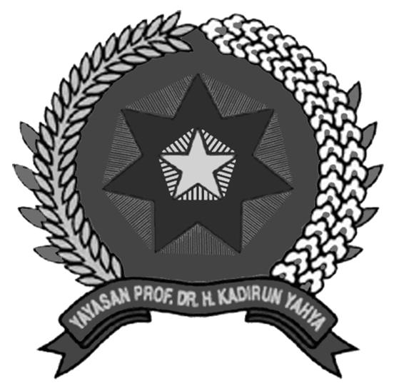Logo UNPAB (Universitas Panca Budi) Hitam Putih PNG