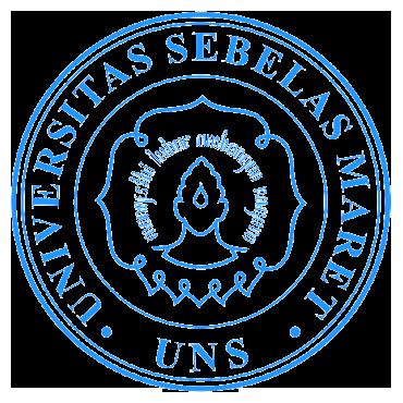 Logo UNS (Universitas Sebelas Maret) Bulat