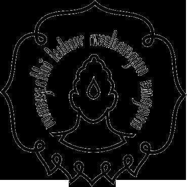 Logo UNS (Universitas Sebelas Maret) Hitam Putih