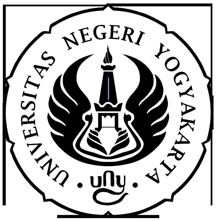 Logo UNY (Universitas Negeri Yogyakarta) Hitam Putih