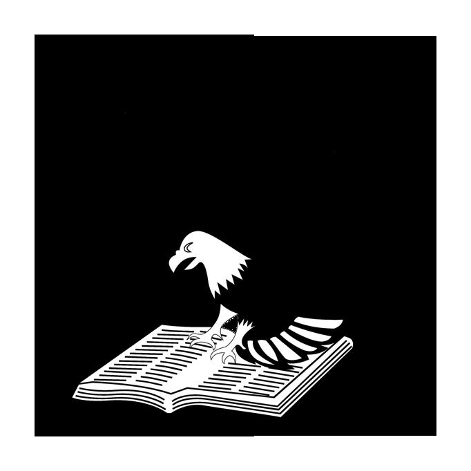 Logo UPH (Universitas Pelita Harapan) Original Hitam Putih PNG