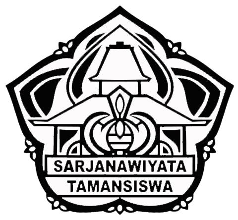 Logo UST (Universitas Sarjanawiyata Tamansiswa) Hitam Putih JPG
