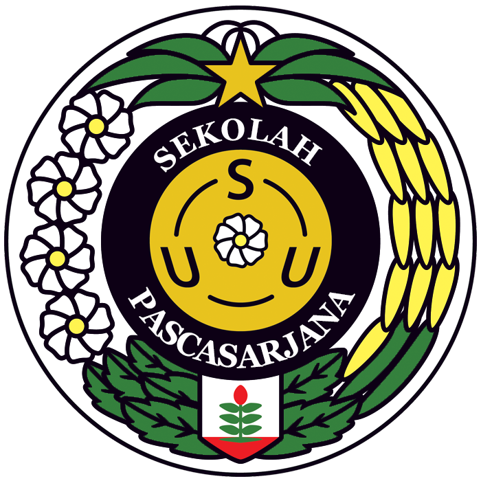 Logo USU Sekolah Pascasarjana (Universitas Sumatera Utara)
