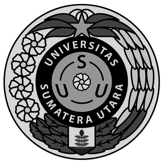 Logo USU (Universitas Sumatera Utara) Hitam Putih