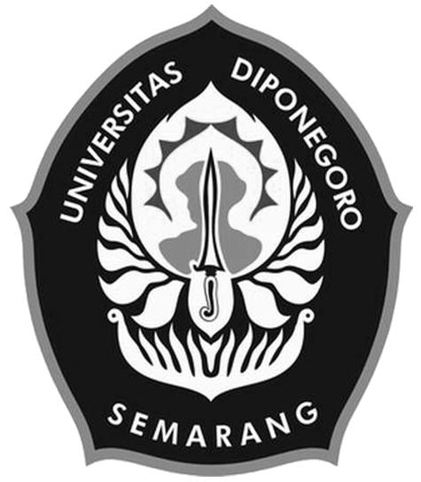 Logo Undip (Universitas Diponegoro Semarang) Hitam Putih 2