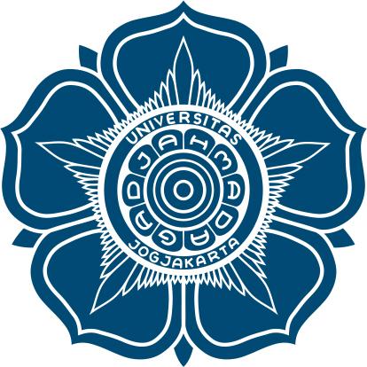 Logo UGM (Universitas Gadjah) Mada Block Biru