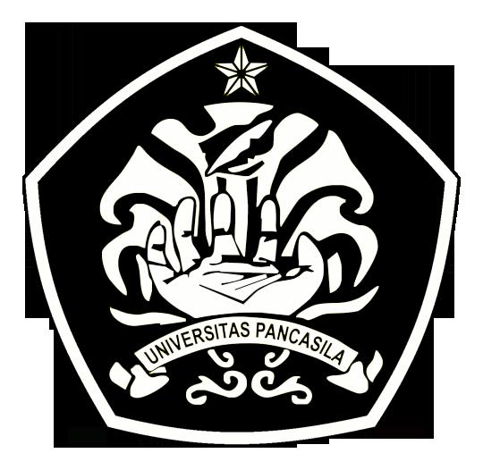 Logo Universitas Pancasila Hitam Putih PNG