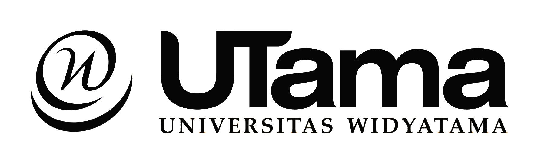 Logo Widyatama (Universitas Widyatama) Original Hitam Putih PNG