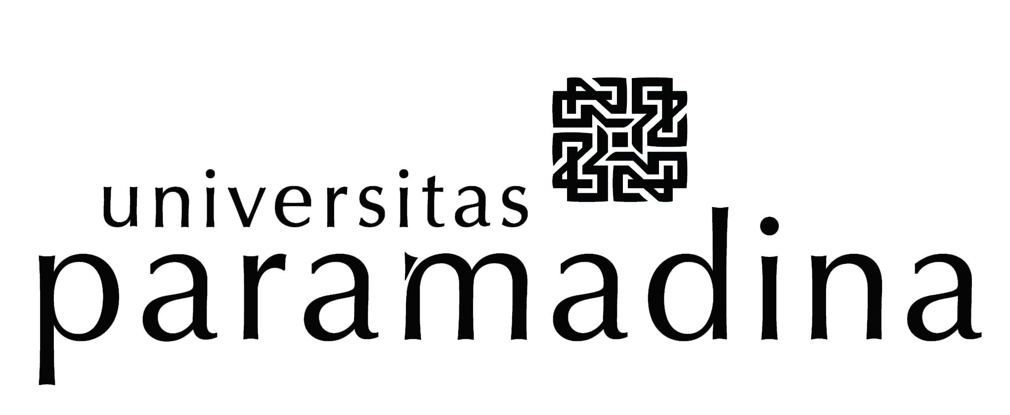 Logo Paramadina (Universitas Paramadina) Original Lengkap Hitam Putih PNG