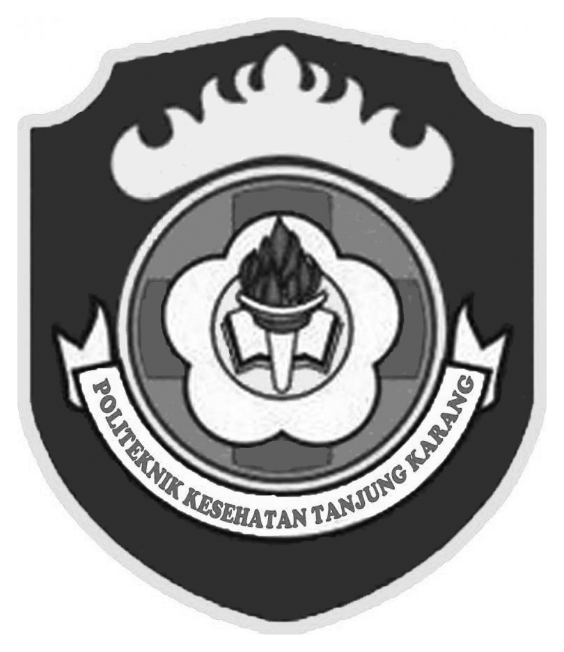 Logo Poltekkes Tanjung Karang Terbaru Original PNG Grayscale
