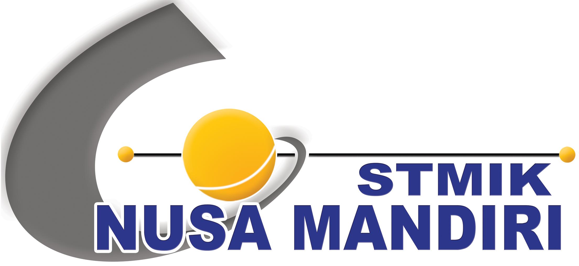 Logo STMIK Nusa Mandiri Original PNG Terbaru