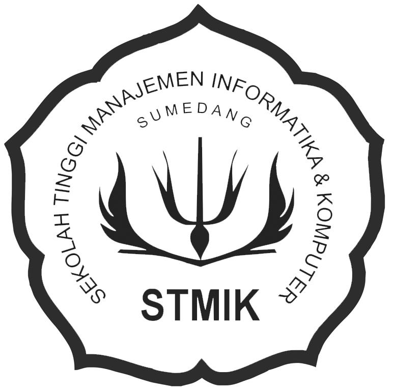 Logo STMIK Sumedang Original PNG Terbaru Hitam Putih