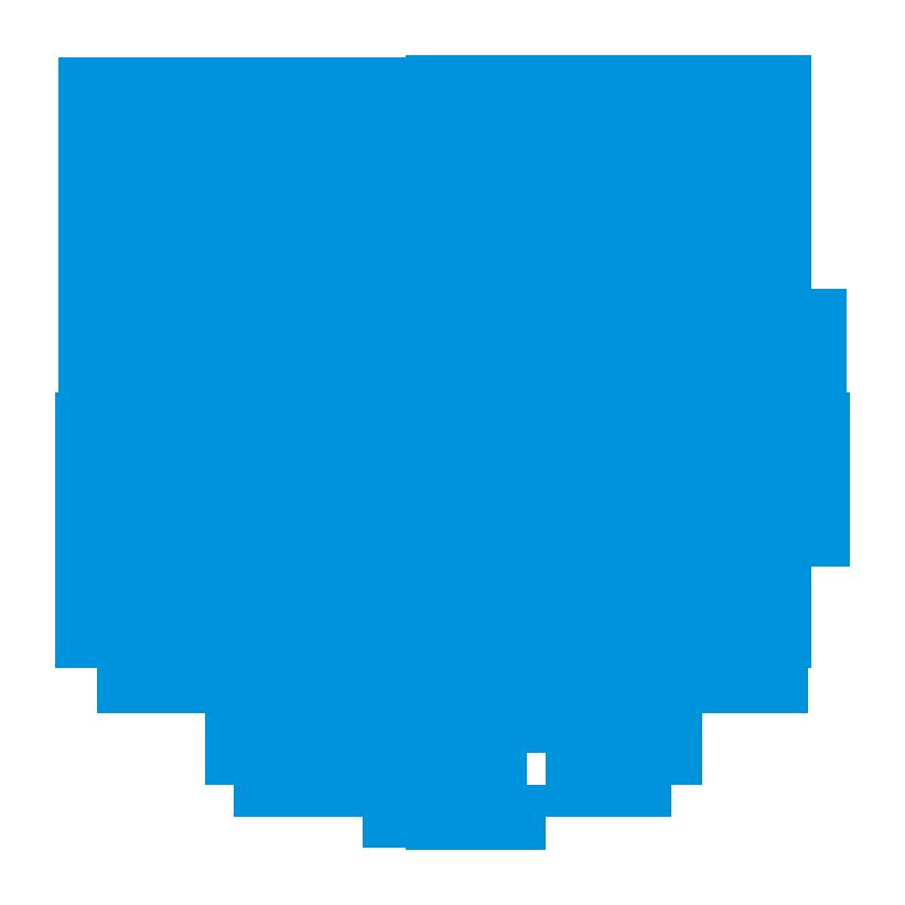 Logo UNM (Universitas Negeri Makassar) Biru PNG