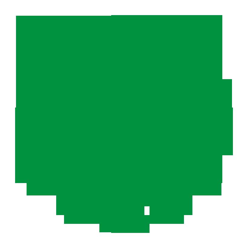 Logo UNM (Universitas Negeri Makassar) Hijau PNG