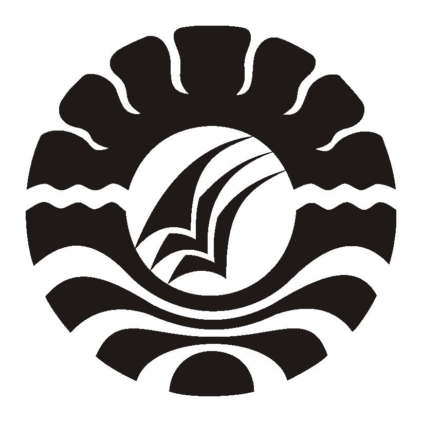 Logo UNM (Universitas Negeri Makassar) Hitam PNG