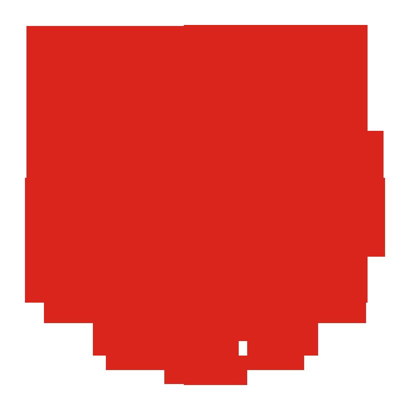 Logo UNM (Universitas Negeri Makassar) Merah PNG