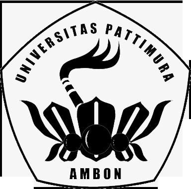 Logo Unpatti (Universitas Pattimura) Original Hitam Putih