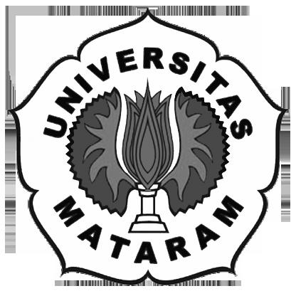 Logo Unram (Universitas Mataram) Hitam Putih PNG