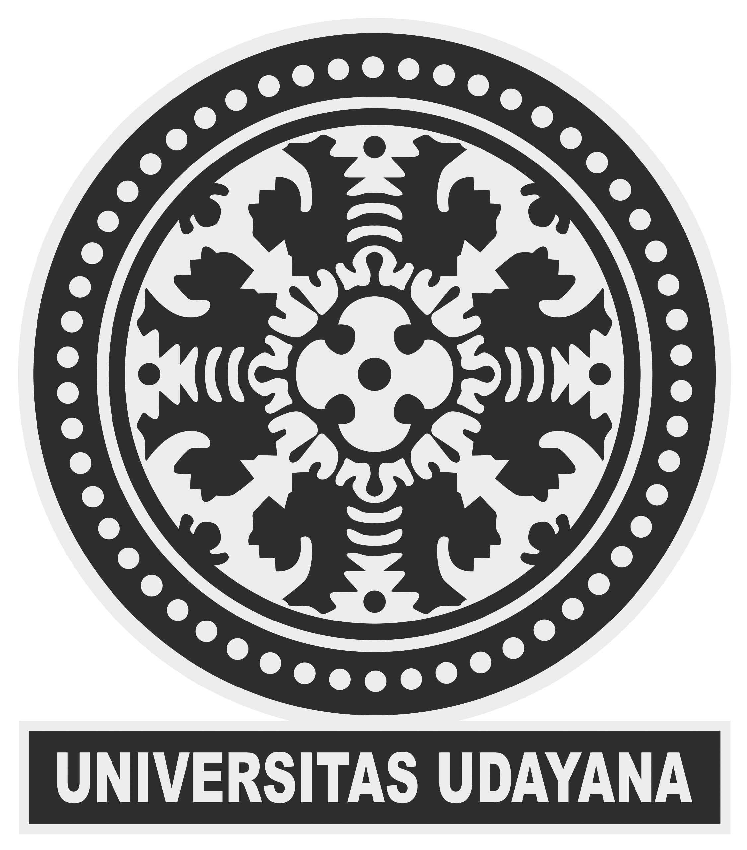 Logo Unud (Universitas Udayana) Original Grayscale