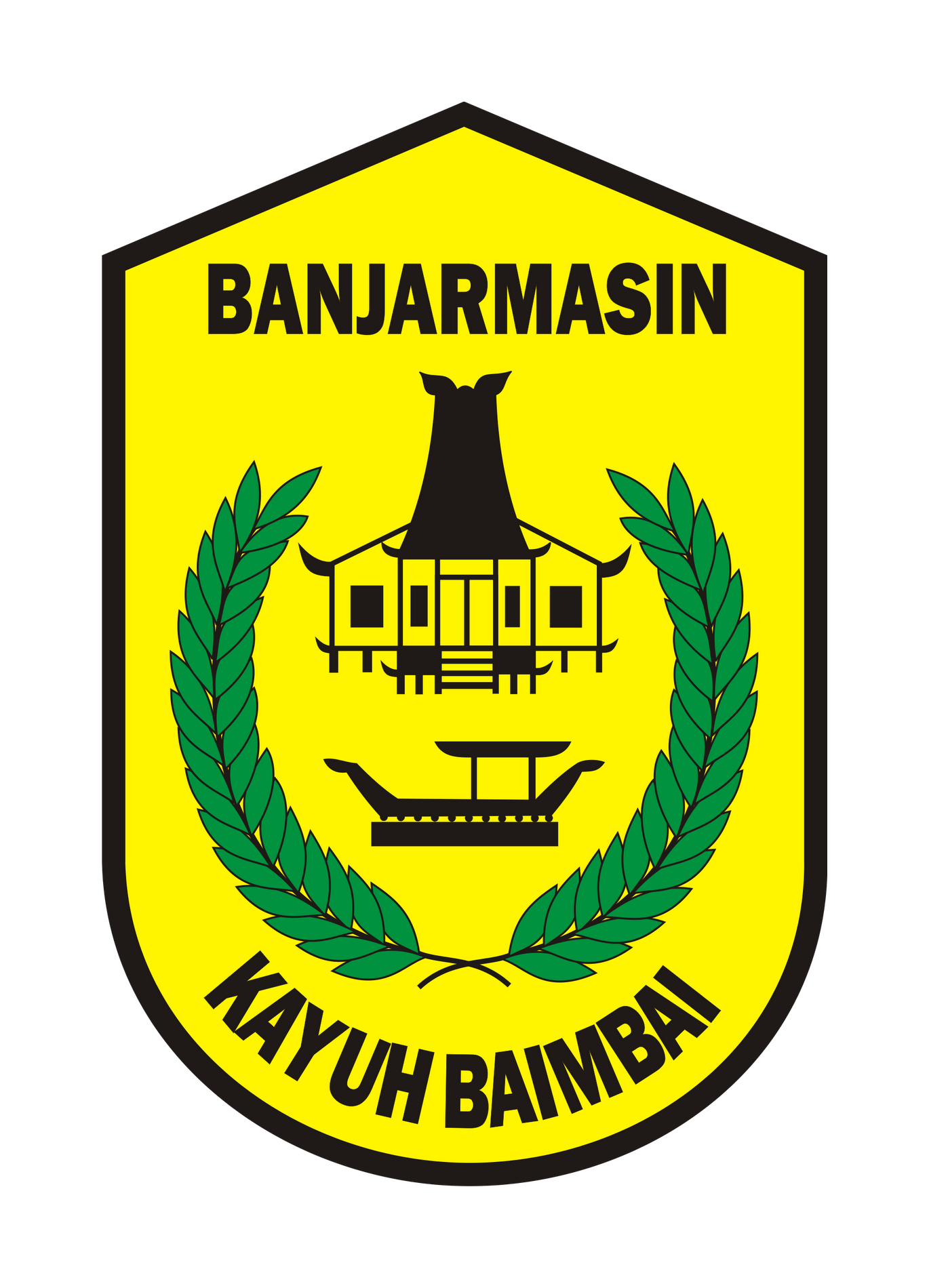 Logo Banjarmasin (Kota Banjarmasin Kalimantan Selatan)