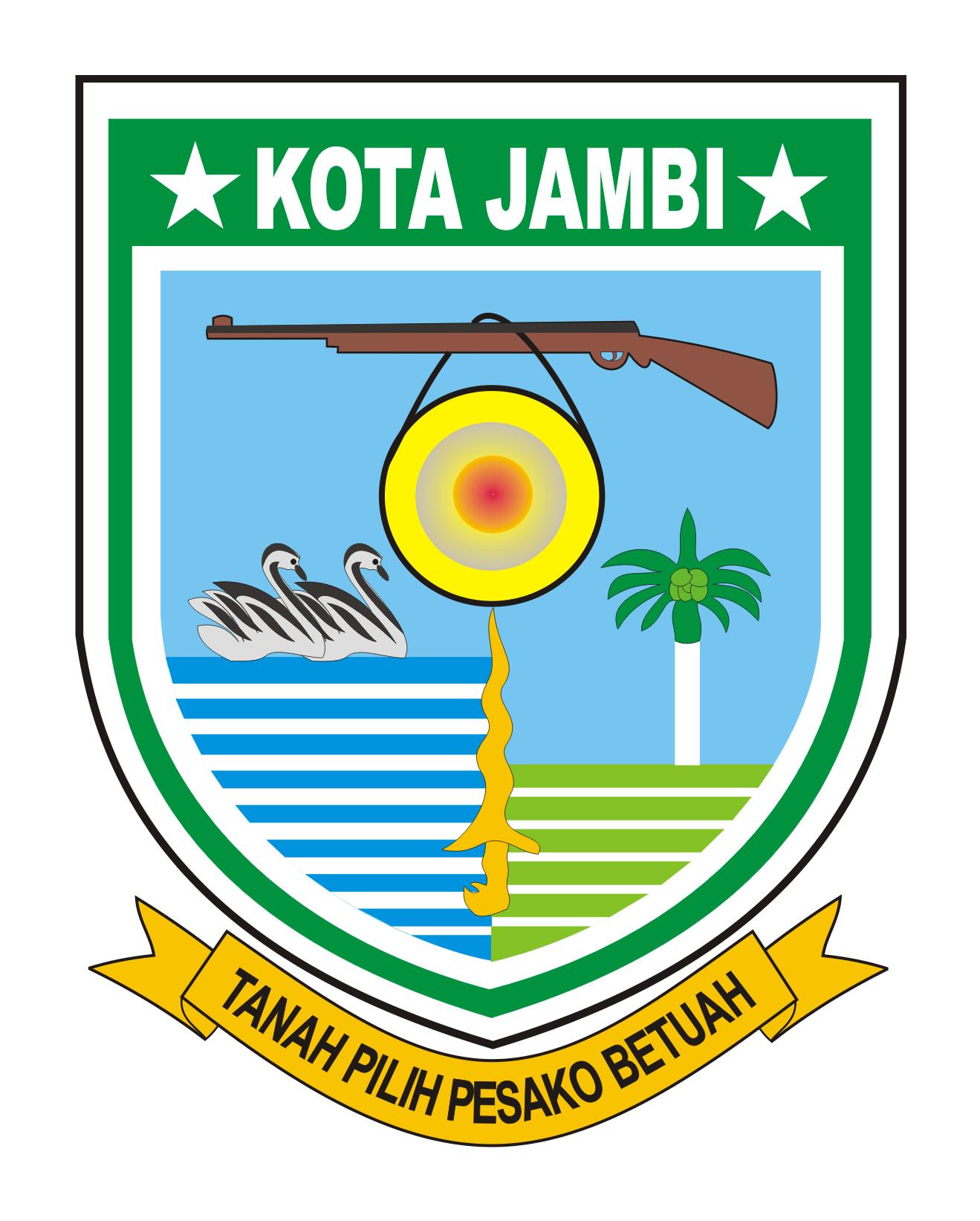 Logo Kota Jambi (Ibu Kota Provinsi Jambi) Original