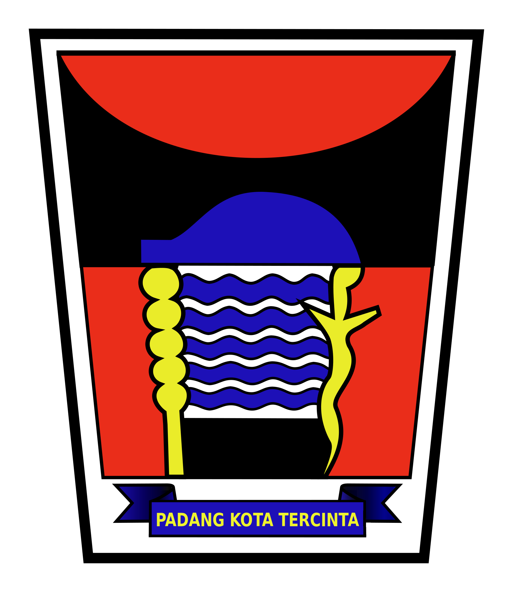 Logo Kota Padang (Provinsi Sumatera Barat) Original