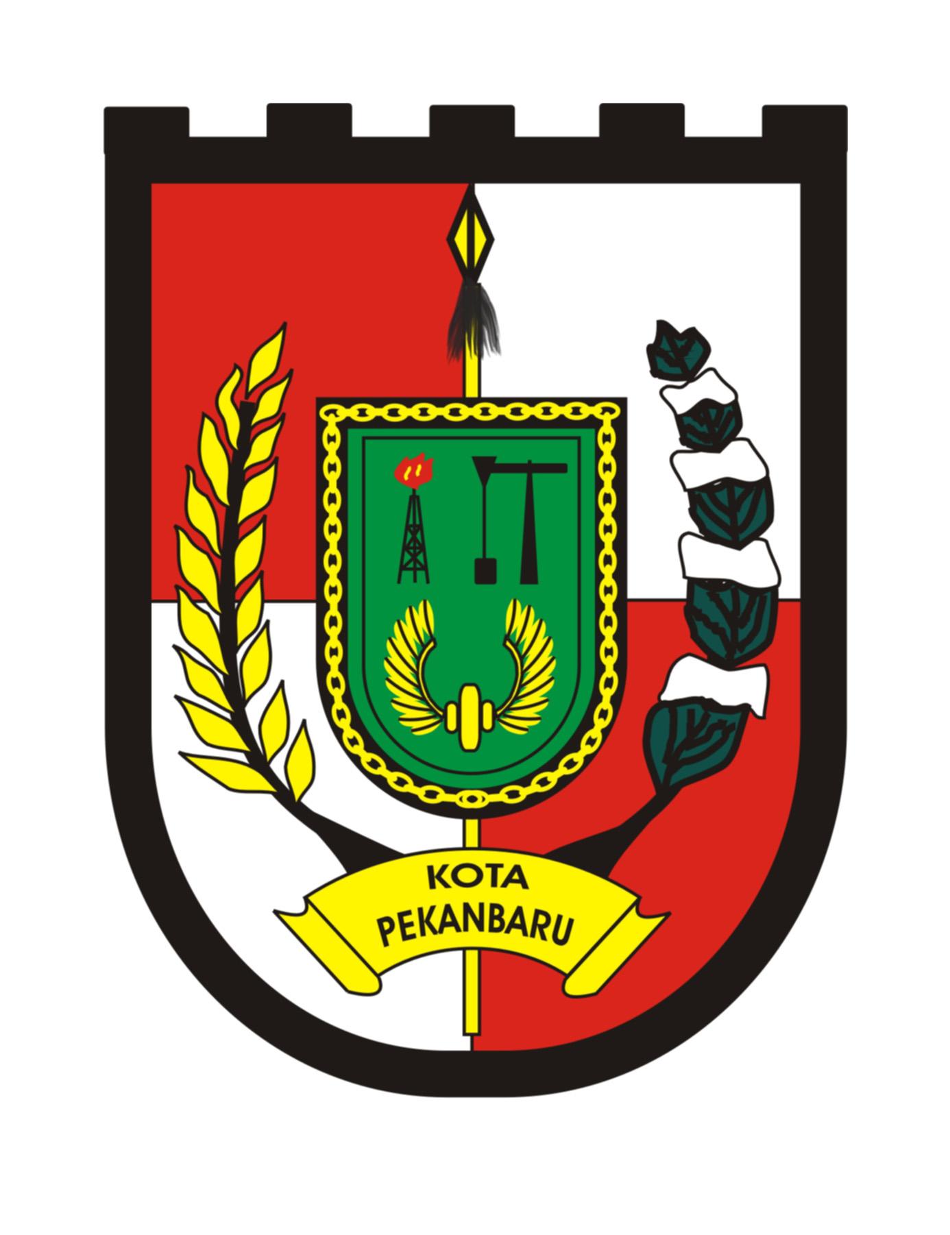 Logo Kota Pekanbaru (Provinsi Riau, Indonesia) Original